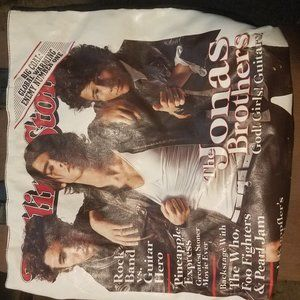 Jonas Brothers Rolling Stones bag